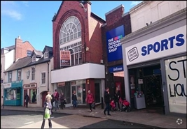 3,311 SF High Street Shop for Rent  |  16 Cross Street, Oswestry, SY11 2NG