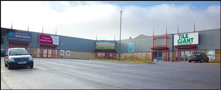 1,325 SF Retail Park Unit for Rent  |  Unit 2b, Pellon Lane Retail Park, Halifax, HX1 5QX