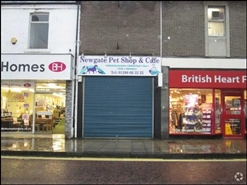 1,210 SF High Street Shop for Rent  |  83 Newgate Street, Bishop Auckland, DL14 7EW
