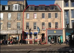 2,288 SF High Street Shop for Rent  |  95 Princes Street, Edinburgh, EH2 2ER
