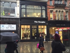 1,080 SF High Street Shop for Rent | 50 King Street, Manchester, M2 4LY