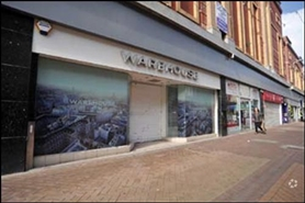 1,475 SF High Street Shop for Rent  |  9 Bank Hey Street, Blackpool, FY1 4RU