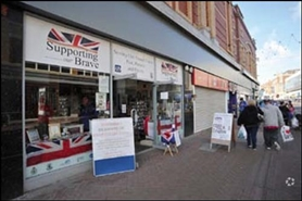 1,100 SF High Street Shop for Rent  |  7 Bank Hey Street, Blackpool, FY1 4RU