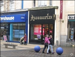 654 SF High Street Shop for Rent   72 Broadmead, Bristol, BS1 3DR