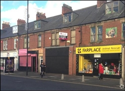 820 SF High Street Shop for Rent  |  126 Station Road, Wallsend, NE28 8QS
