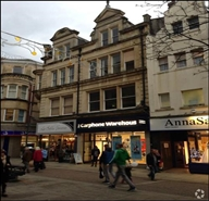 1,318 SF High Street Shop for Rent  |  36 Commercial Street, Newport, NP20 1HP