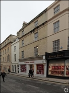 1,167 SF High Street Shop for Rent  |  27 - 28 Stall Street, Bath, BA1 1QF