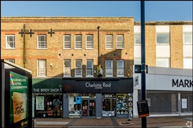 967 SF High Street Shop for Rent  |  65 - 67 Clarence Street, Kingston Upon Thames, KT1 1RB