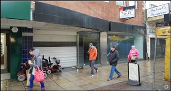 1,729 SF High Street Shop for Rent | 187 - 189 Commercial Road, Portsmouth, PO1 1EA