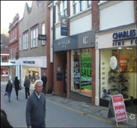 1,056 SF High Street Shop for Rent  |  Unit 3a, Guildford, GU1 4LB