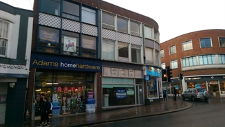 714 SF High Street Shop for Rent  |  165 Fore Street, Exeter, EX4 3AT