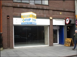 2,762 SF High Street Shop for Rent  |  17 Granby Street, Leicester, LE1 6EJ