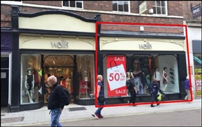 1,137 SF High Street Shop for Rent  |  40 Coney Street, York, YO1 9ND