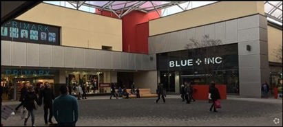 2,236 SF Shopping Centre Unit for Rent  |  The Malls Shopping Centre, Basingstoke, RG21 7AW