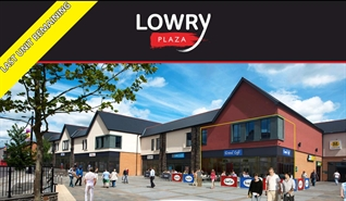 1,489 SF High Street Shop for Rent  |  Unit 6a Lowry Plaza, Bargoed, CF81 8QT