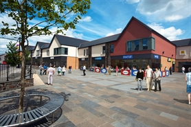 1,266 SF High Street Shop for Rent  |  Unit 7 Lowry Plaza, Bargoed, CF81 8QT