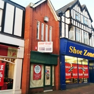 471 SF High Street Shop for Rent  |  27 Witton Street, Northwich, CW9 5DE
