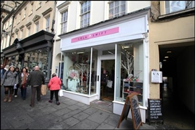 532 SF High Street Shop for Rent  |  28 Milsom Street, Bath, BA1 1DG