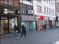 743 SF High Street Shop for Rent  |  21 Gallowtree Gate, Leicester, LE1 5AD