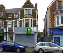 796 SF High Street Shop for Rent  |  60 Albany Road, Cardiff, CF24 3RR