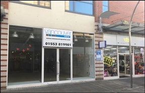 1,514 SF Shopping Centre Unit for Rent  |  24 New Conduit Street, Kings Lynn, PE30 1DL