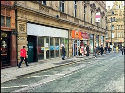 827 SF High Street Shop for Rent  |  46 Cross Street, Manchester, M2 7AR