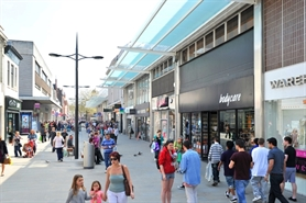 1,616 SF Shopping Centre Unit for Rent  |  84 Regent Street, Swindon, SN1 1JY