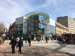 518 SF Shopping Centre Unit for Rent  |  Unit 13, Capitol Shopping Centre, Cardiff, CF10 2HQ