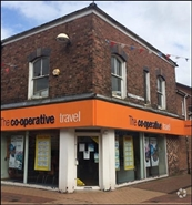660 SF High Street Shop for Rent  |  29 Chapel Street, Chorley, PR7 1BN
