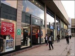 1,119 SF Shopping Centre Unit for Rent  |  Intu Broadmarsh, Nottingham, NG1 7EE