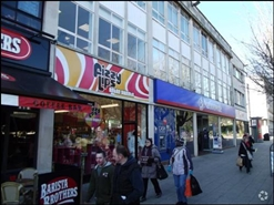 901 SF High Street Shop for Rent  |  139 Armada Way, Plymouth, PL1 1HX