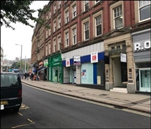 2,416 SF High Street Shop for Rent  |  11 - 13 Wheeler Gate, Nottingham, NG1 2NE