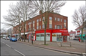 600 SF High Street Shop for Rent  |  Unit 1, Odeon Parade, Greenford, UB6 0NA