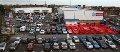 5,000 SF Shopping Centre Unit for Rent  |  Unit F, Oasis Retail Park, Corby, NN17 1RA