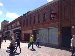 1,273 SF High Street Shop for Rent  |  11 Hope Street, Wrexham, LL11 1BG