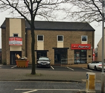 881 SF High Street Shop for Rent  |  Unit 1, 226 Nottingham Road, Eastwood, NG16 3GR
