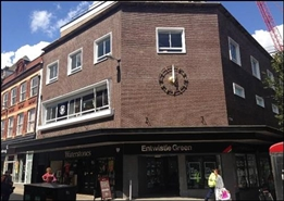 2,508 SF High Street Shop for Rent  |  34 - 36 Deansgate, Bolton, BL1 1BL