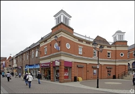 3,462 SF Shopping Centre Unit for Rent  |  Unit 25-27, Chesterfield, S40 1PY