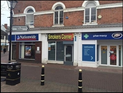 405 SF High Street Shop for Sale  |  Unit 5a, Rugeley, WS15 2DT