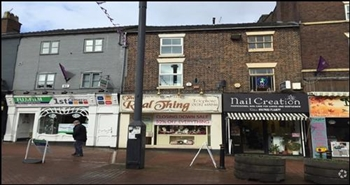 270 SF High Street Shop for Rent  |  26 Ironmarket, Newcastle Under Lyme, ST5 1RH