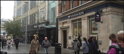 3,423 SF High Street Shop for Rent  |  8 - 9 Kirkgate, Leeds, LS1 6BY