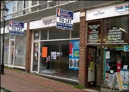 807 SF High Street Shop for Rent  |  3, Talland Parade, Seaford, BN25 1PH