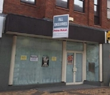 1,105 SF High Street Shop for Rent  |  46-48 Princess Street, Stockport, SK1 1RY
