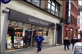 1,050 SF High Street Shop for Rent  |  Lancaster Buildings, Manchester, M3 2BW