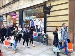 617 SF High Street Shop for Rent  |  2 Market Street, The Royal Exchange, Manchester, M1 1PT