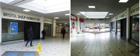 348 SF Shopping Centre Unit for Rent | 26 Castle Gallery,The Galleries Shopping Centre, Bristol, BS1 3XD