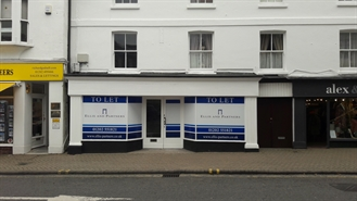 1,036 SF High Street Shop for Rent  |  3 Church Street, Christchurch, BH23 1BW