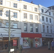 670 SF High Street Shop for Rent  |  17-19 Old Christchurch Road, Bournemouth, BH1 1DR