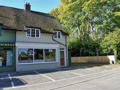 567 SF Out of Town Shop for Rent  |  3 Ringwood Road, Burley, BH24 4AD
