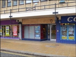 862 SF High Street Shop for Rent  |  Westgate House, Halifax, HX1 1PB